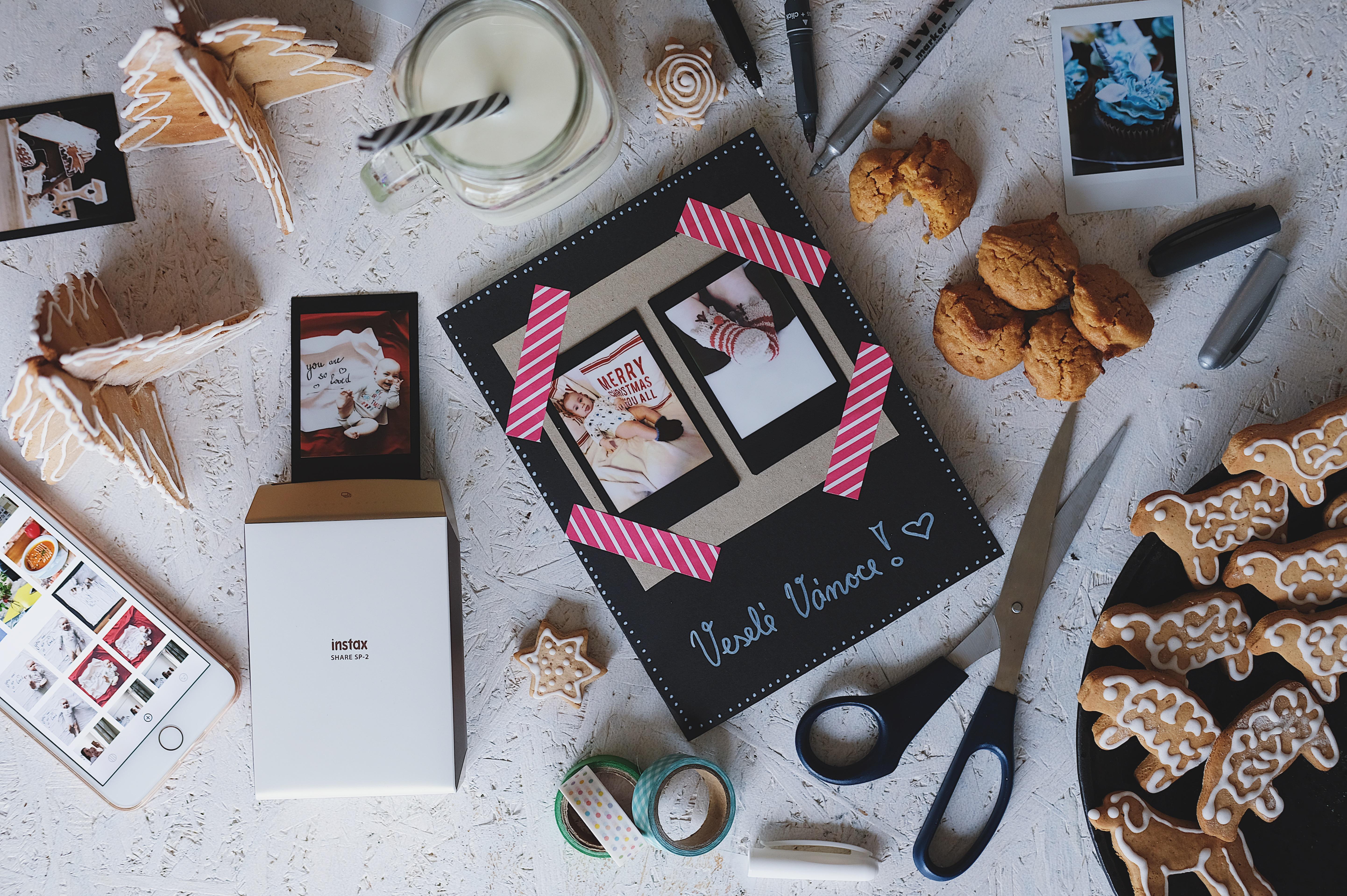 """DIY: Jak na """"domácí"""" vánoční přáníčka"""