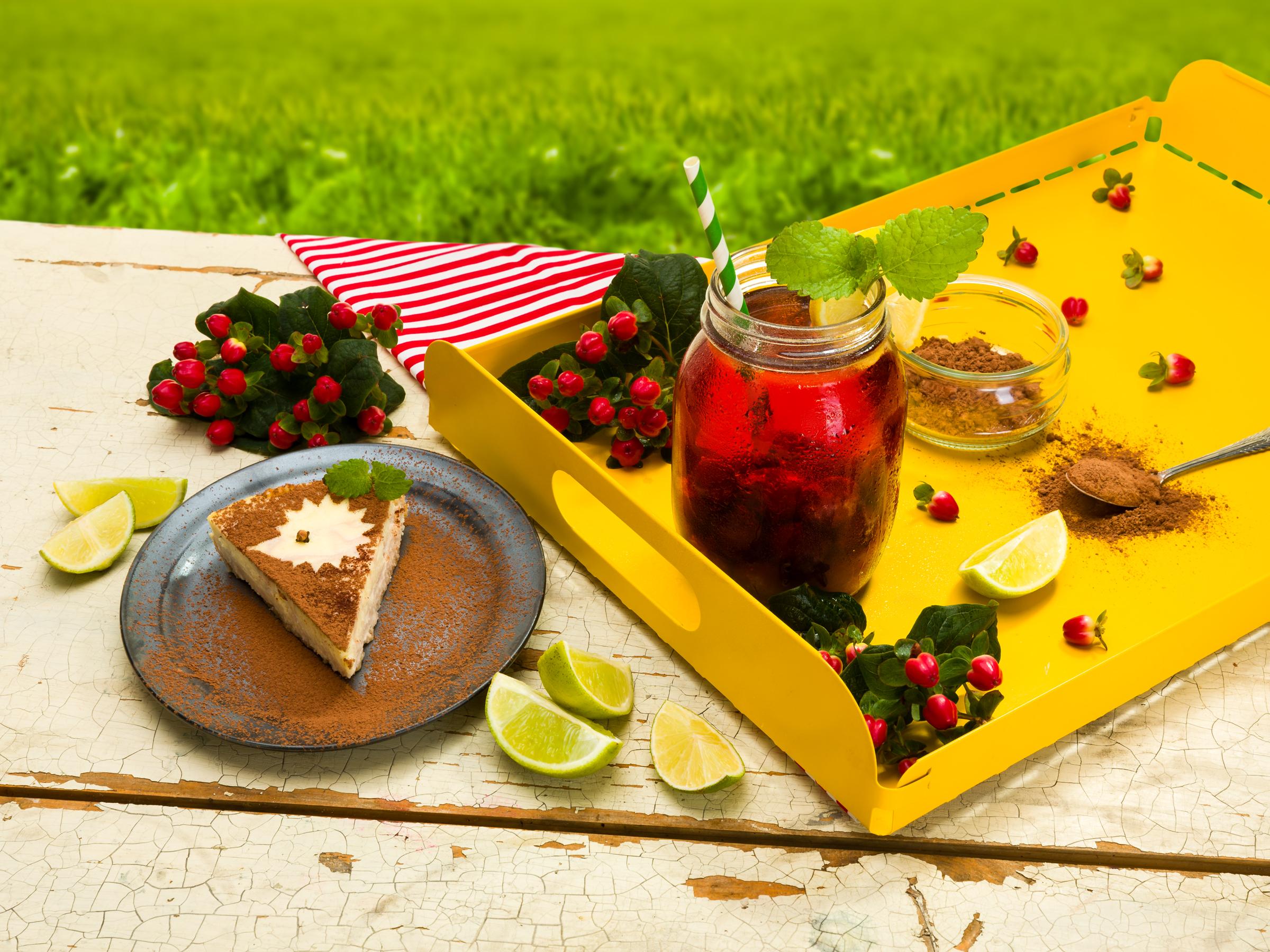 Vanilkovo – višňový cheesecake
